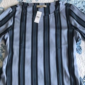 NWT Loft 3/4 Bell Sleeved Top M